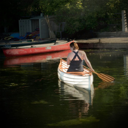 """The Fortieth"" Solo Canoe"